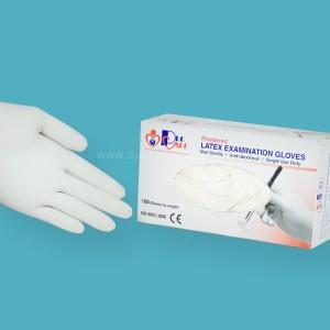 Procare Non-Sterile Latex Examination Gloves