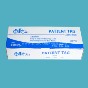 Procare Adult Patient Tag Packaging