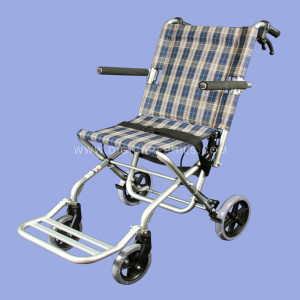 Aluminum Compact Travel Wheelchair
