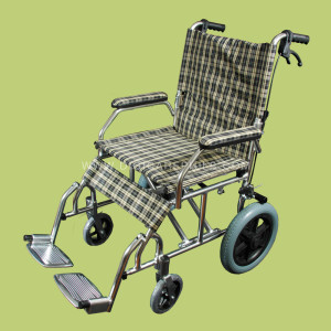 """Travel Wheelchair with 12"""" Mag Wheels"""
