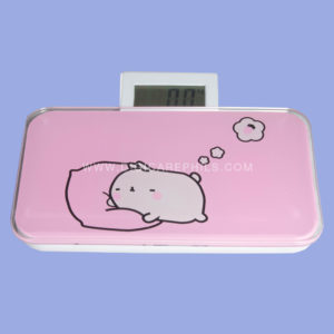 Digital Portable Weighing Scale (Pink)