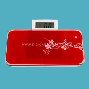 Procare Digital Portable Weigh Scale (Red)