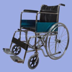 Hardseat Wheelchair with Spoke Wheels