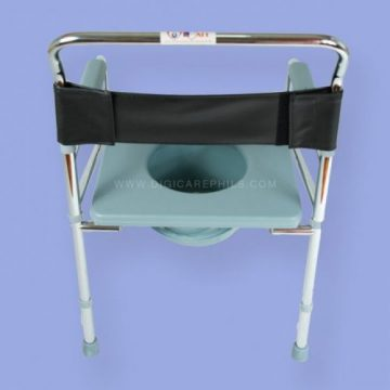 Procare Foldable Commode Chair with Foam | Digicare Medical Products ...